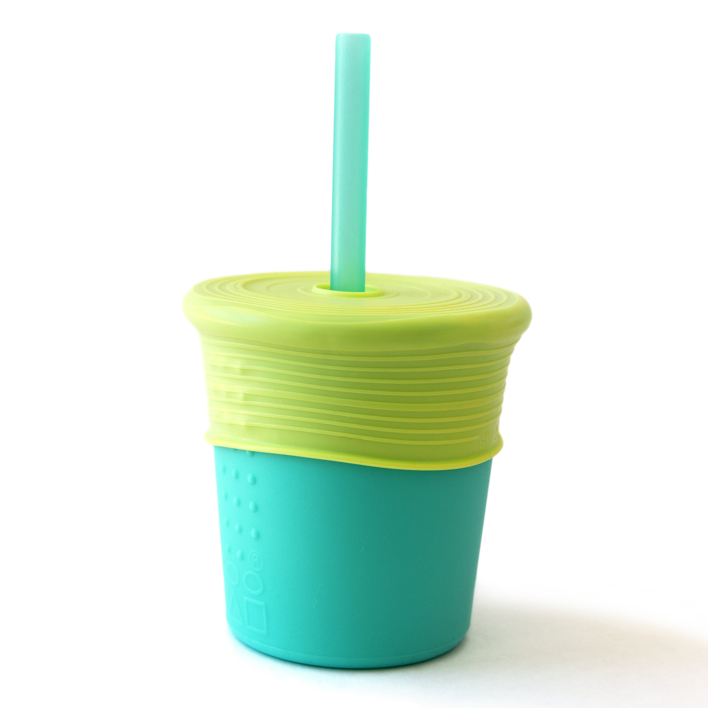 Straw Cup 236ml Sea/Lime