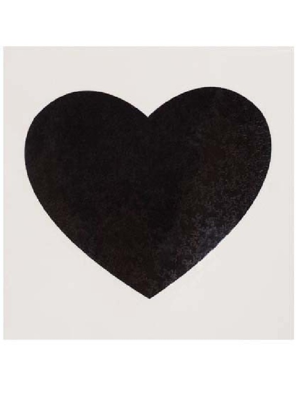 Tattoo Heart Black