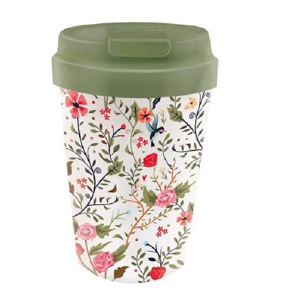 BioLoco plant easy cup Flowers and birds