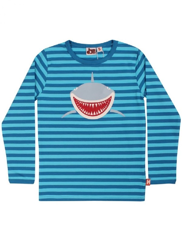 DYR Longsleeve Roar Shark Blue/Rainblue