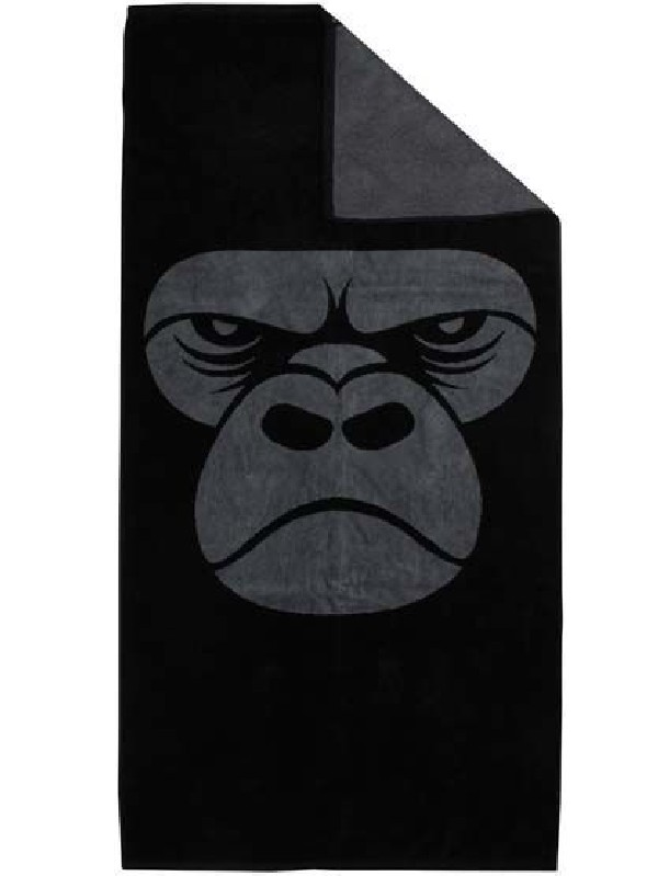 Towel Black/Warm Grey Gorilla