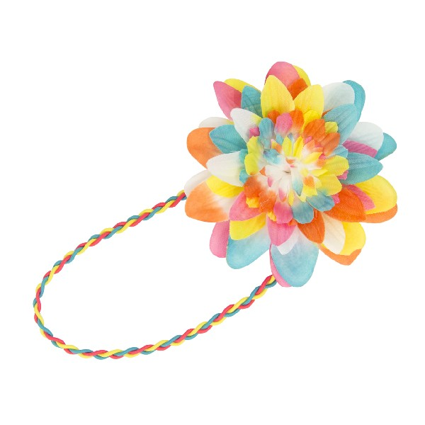 Haarband Multicolour Flower