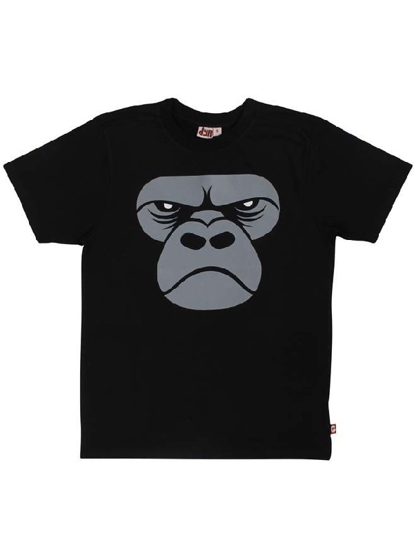 Shirt Zoomgorilla Black (Adult)