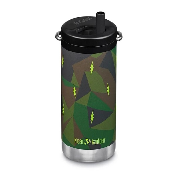 TKWide Thermosfles Twist Cap Electric Camo 355ml